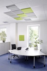 panouri fonoabsorbante textile tavan
